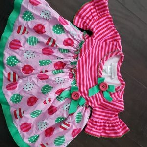 Baby Christmas dress. 12 months